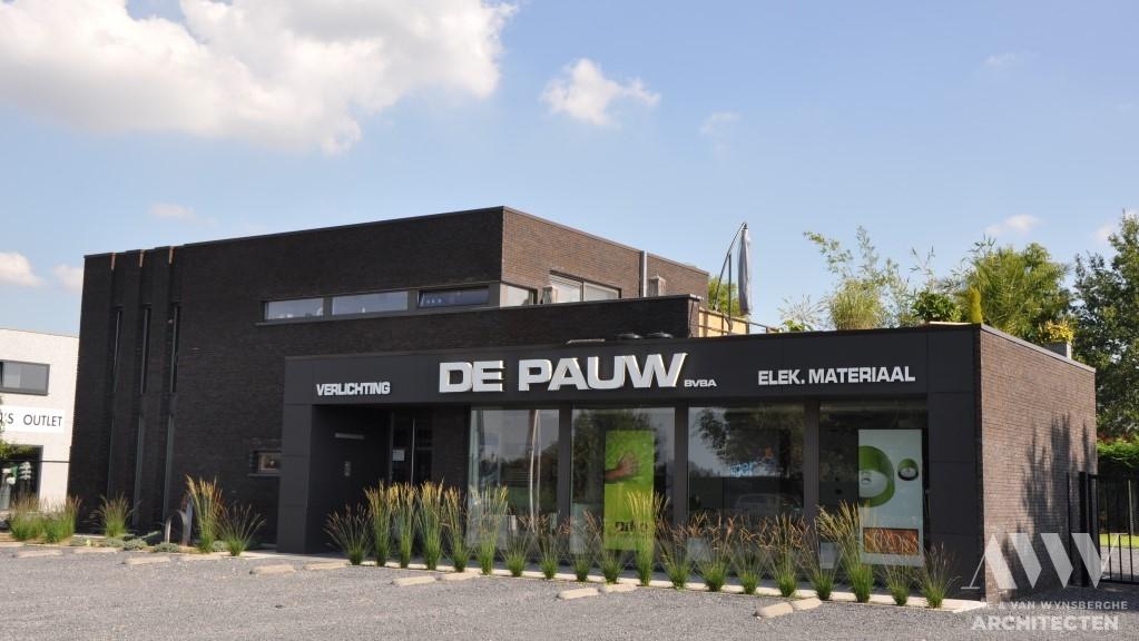 office building kantoorgebow DPE Assenede (2)