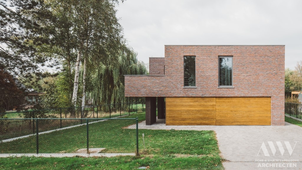 modern house moderne woning B-A Assenede (4)