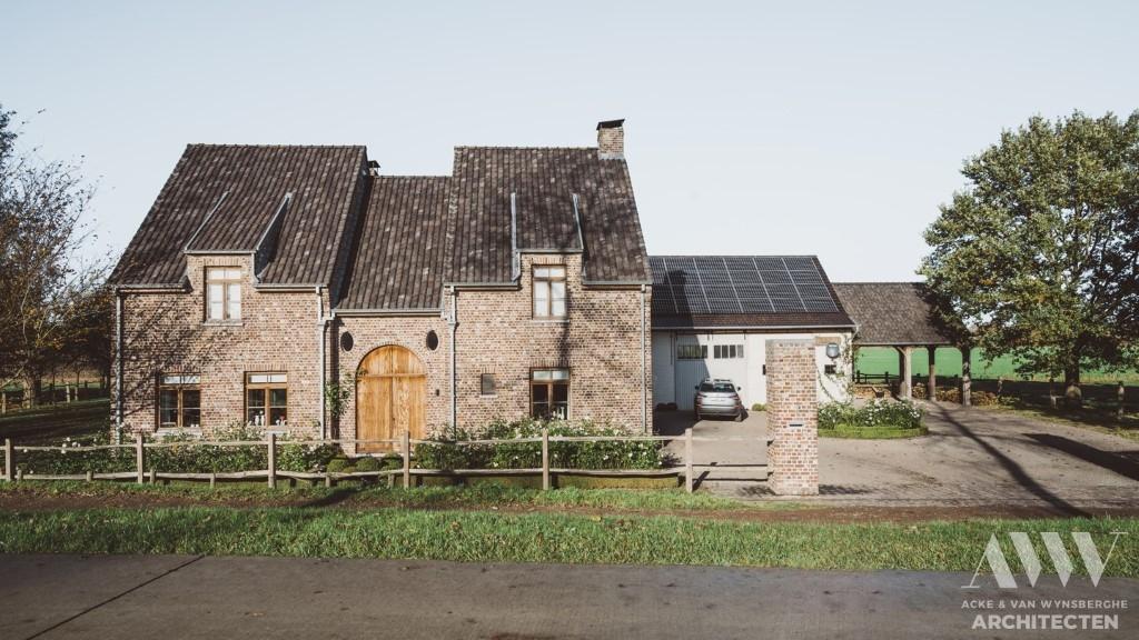 rural house landelijke woning G-E Sint Laureins (1)
