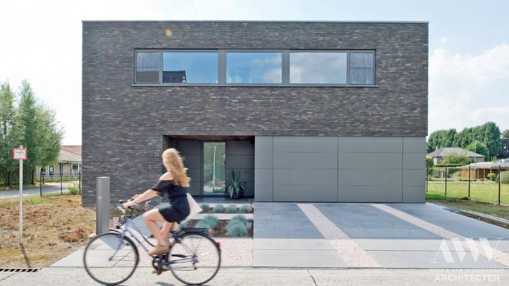 modern house moderne woning T-A Lochristi © fclama.be (1)