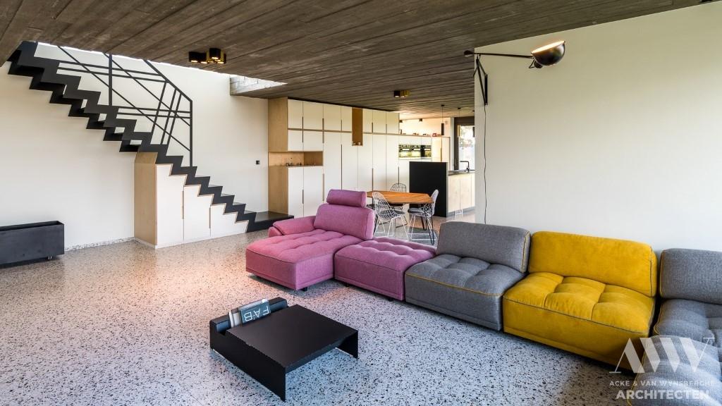 modern house moderne woning J-R Assenede (5)
