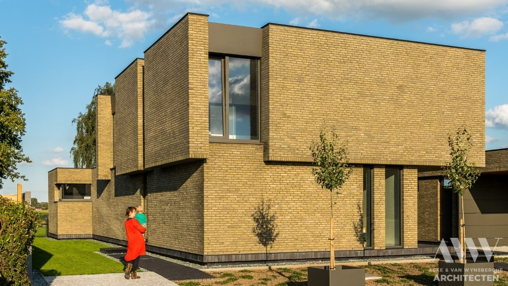 modern house moderne woning J-R Assenede (1)