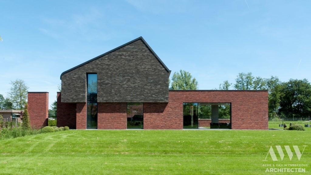 modern house moderne woning L-M Bassevelde (6)