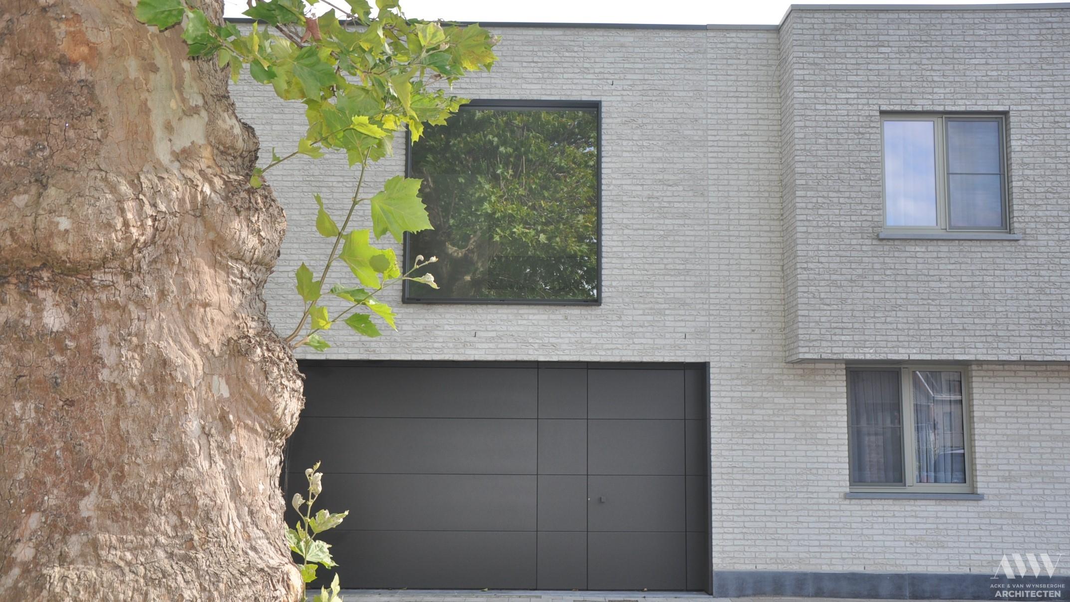 modern house moderne woning A-W Bassevelde (1)