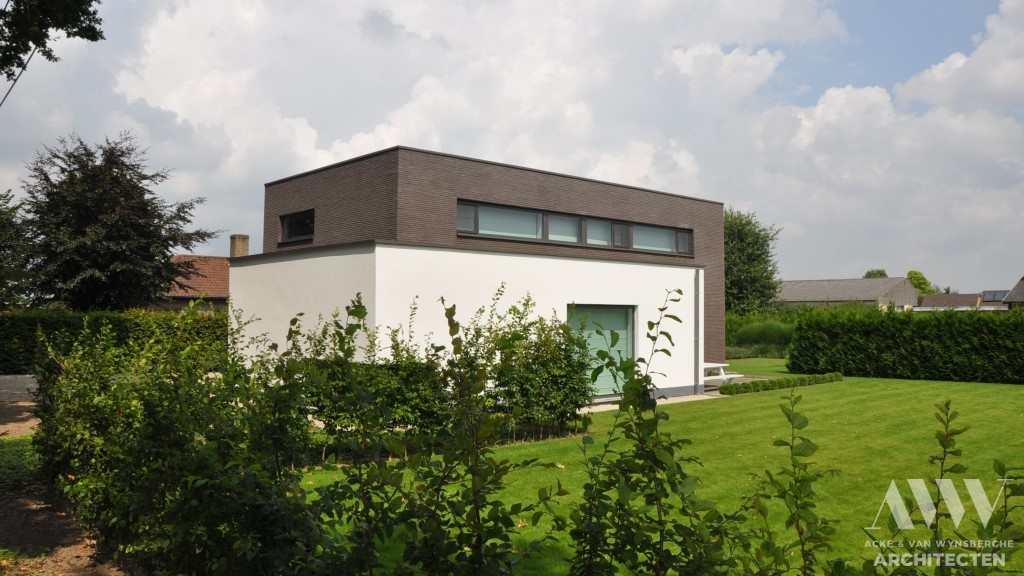 Modern house moderne woning B-A Assenede (5)