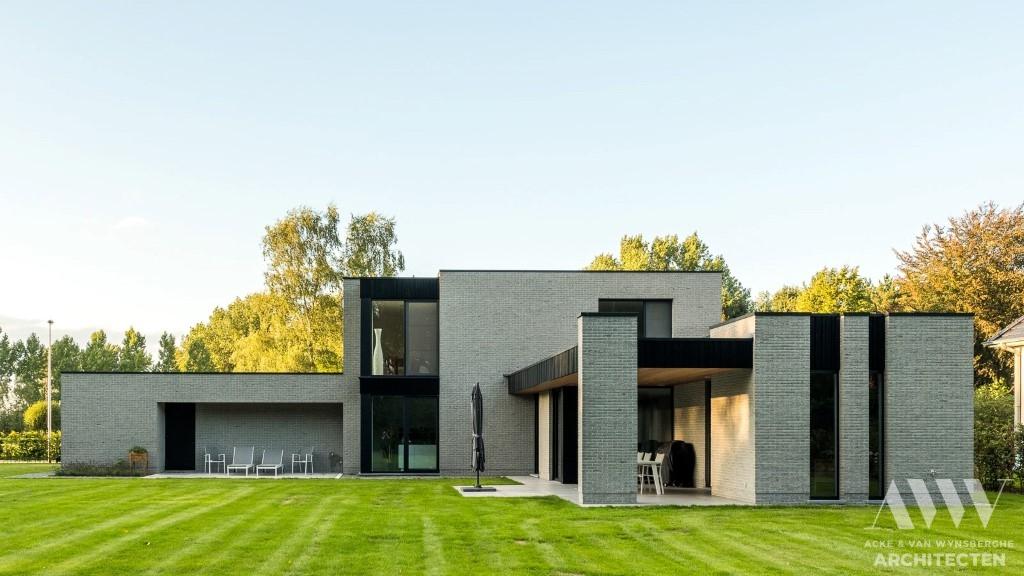 modern house moderne woning T Zelzate (5)