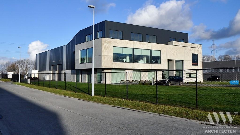 office building bedrijfsgebouw C Evergem (7)
