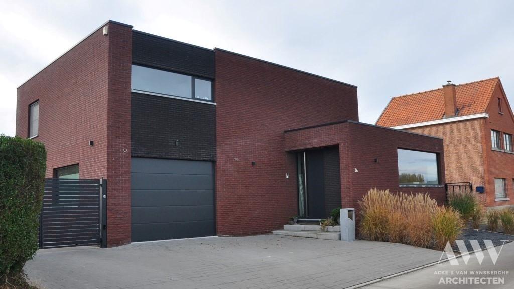 modern house moderne woning B-C Watervliet (1)