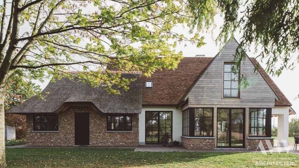 rural house landelijke woning F-B Assenede (1)