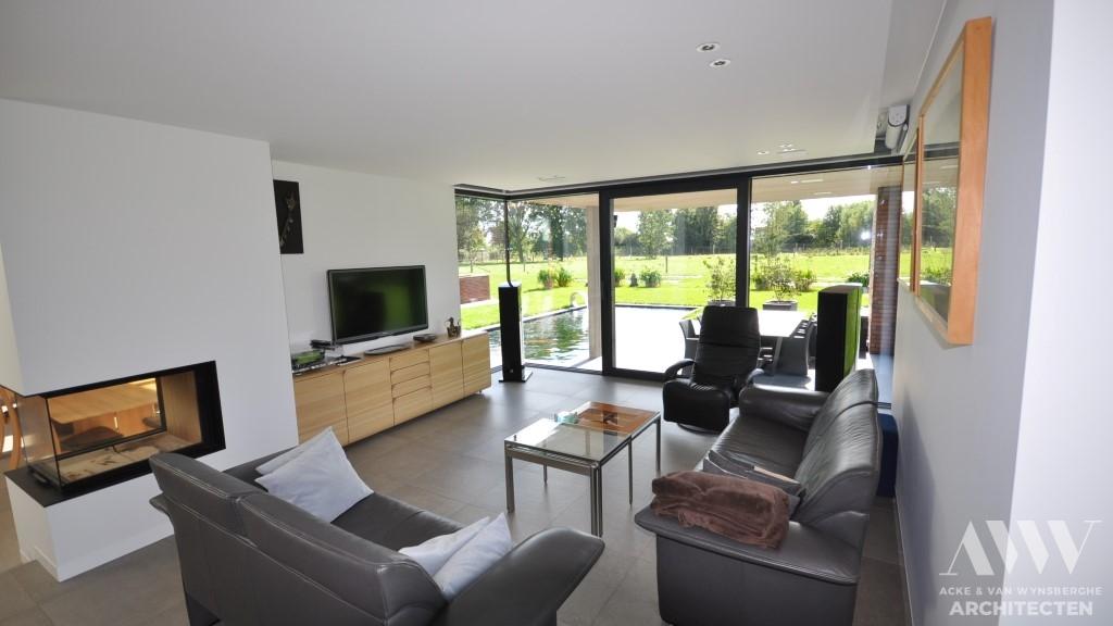 modern house moderne woning L-M Bassevelde (2)
