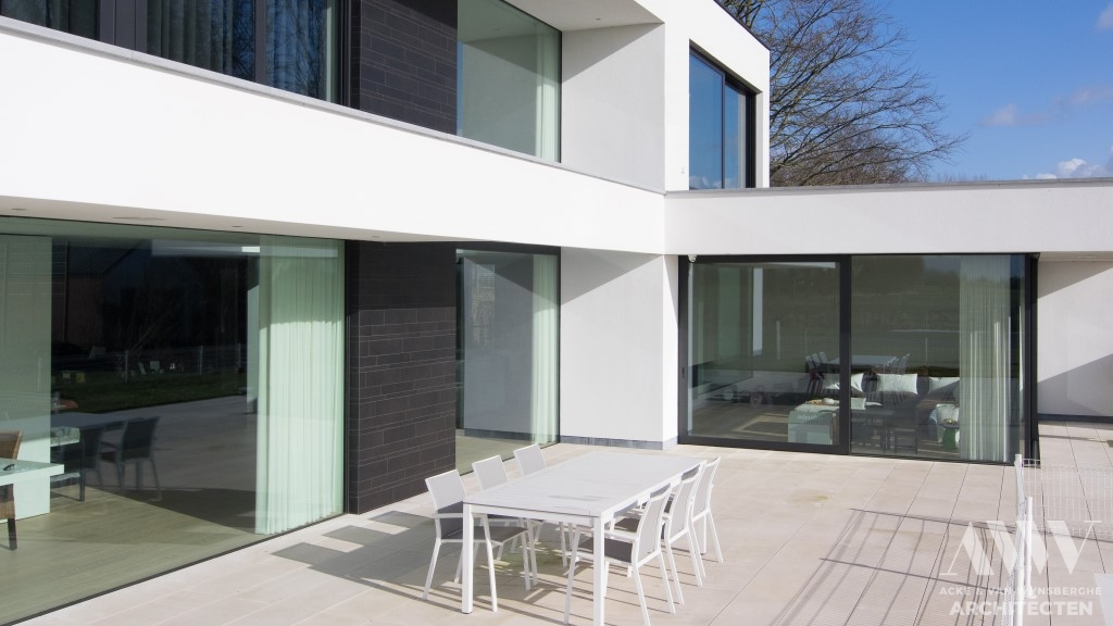 Modern house moderne woning B-M Assenede (7)
