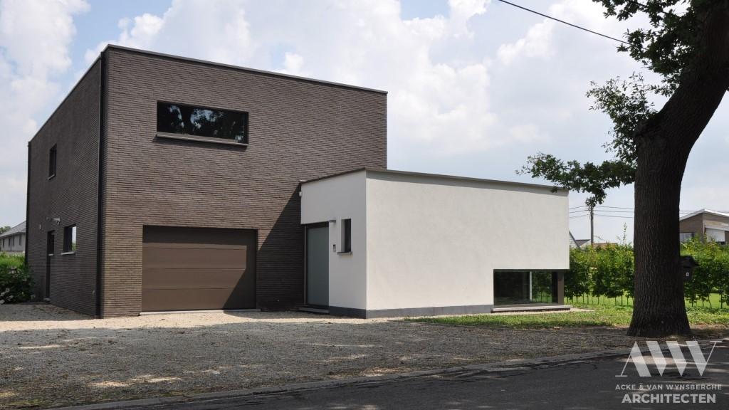 Modern house moderne woning B-A Assenede (1)