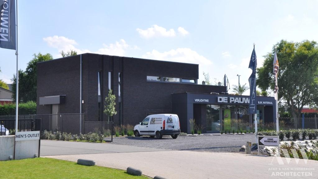 office building kantoorgebow DPE Assenede (1)