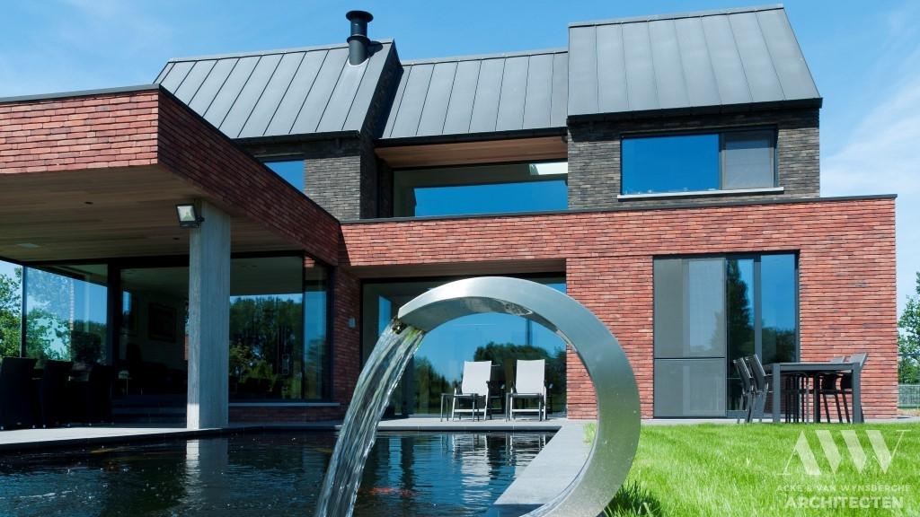 modern house moderne woning L-M Bassevelde (8)