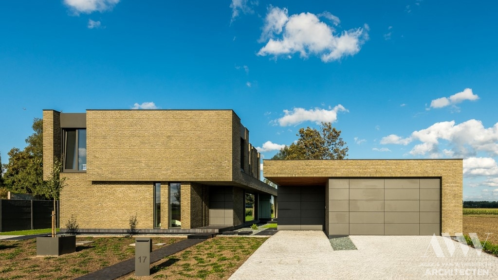 modern house moderne woning J-R Assenede