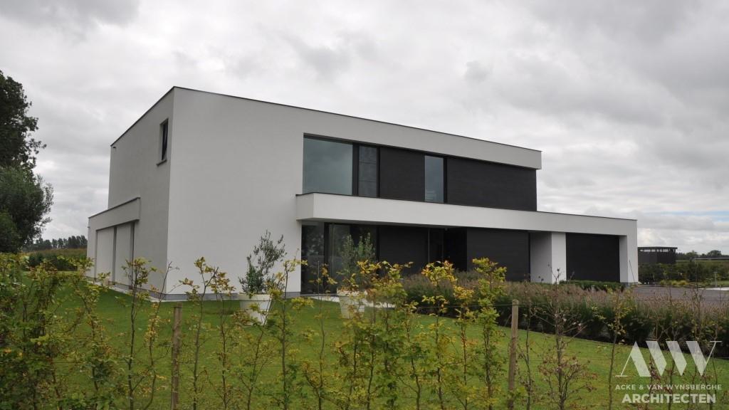 Modern house moderne woning B-M Assenede (1)