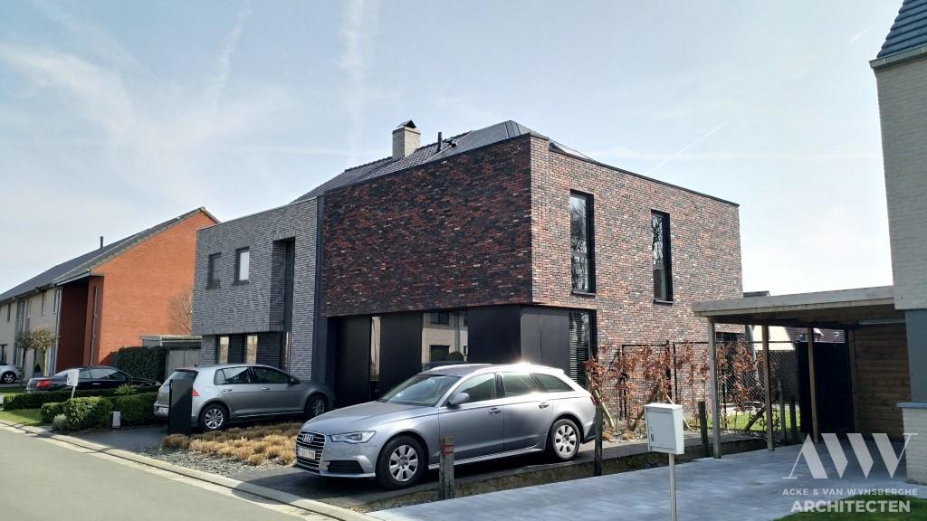 A modern house moderne woning J-E Beernem
