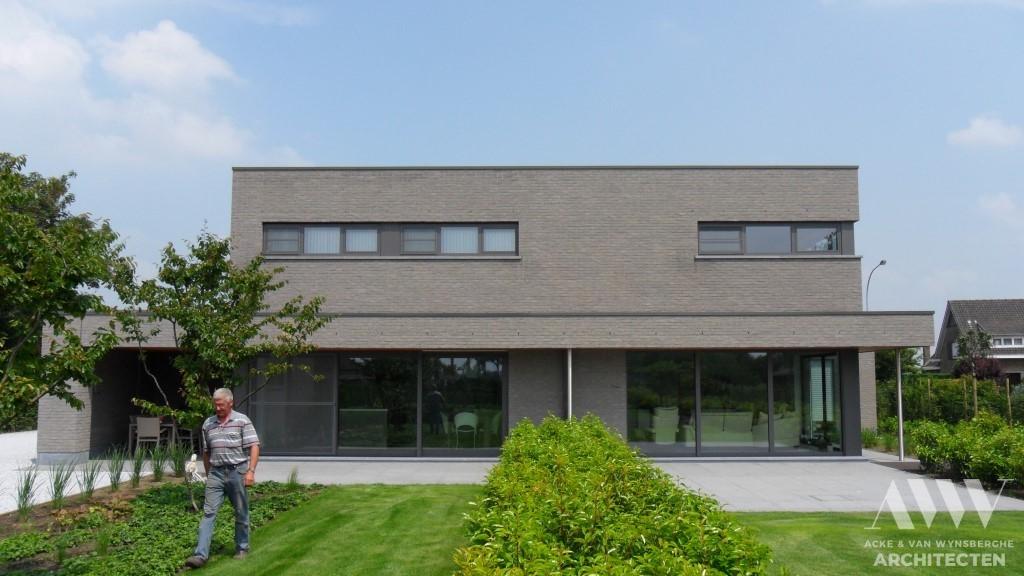 A modern house moderene woning H-A Zomergem (2)