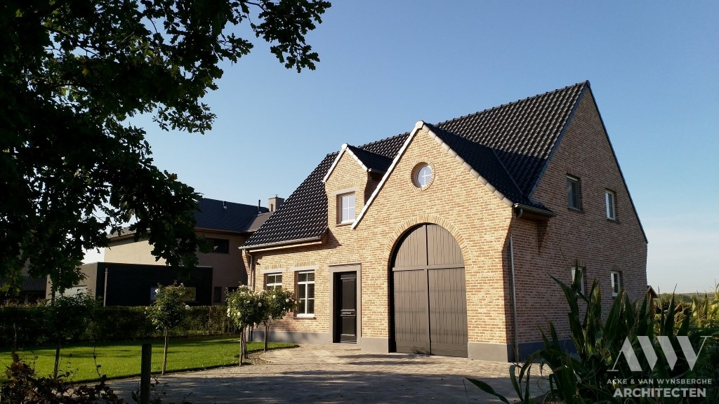 A rural house landelijke woning N-K Adegem (2)