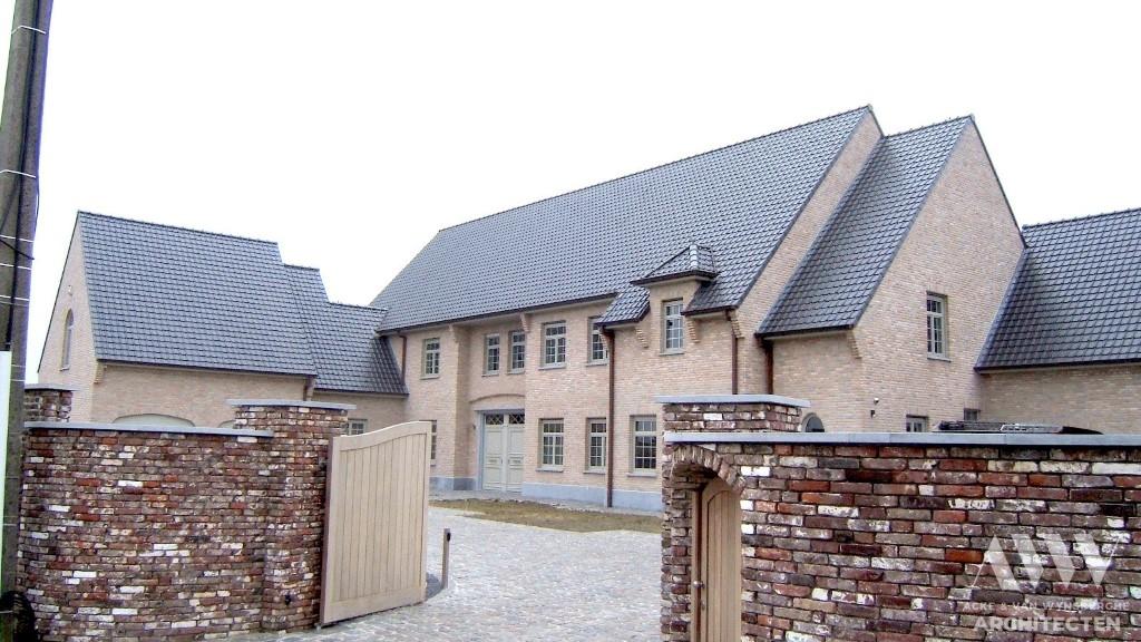 A rural house landelijke woning R Sleidinge