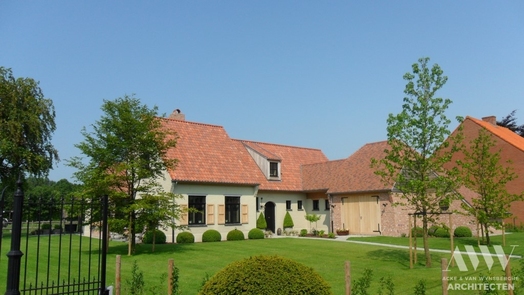 A rural house landelijke woning E-A Sint-Laureins (3)