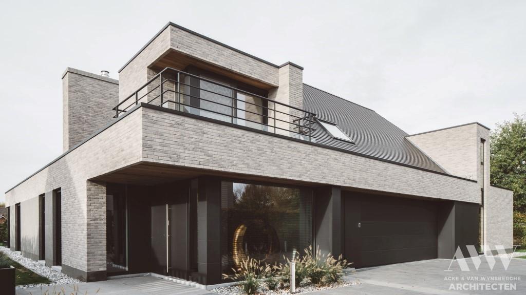 modern house moderne woning C-M Stekene (1)