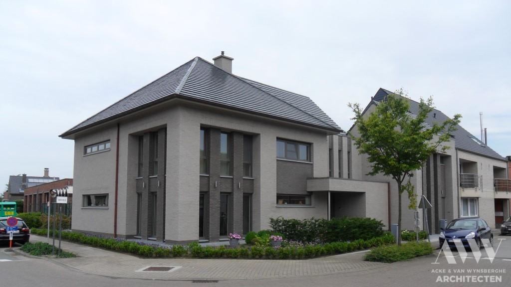 A modern house moderne woning A-L Sleidinge (2)