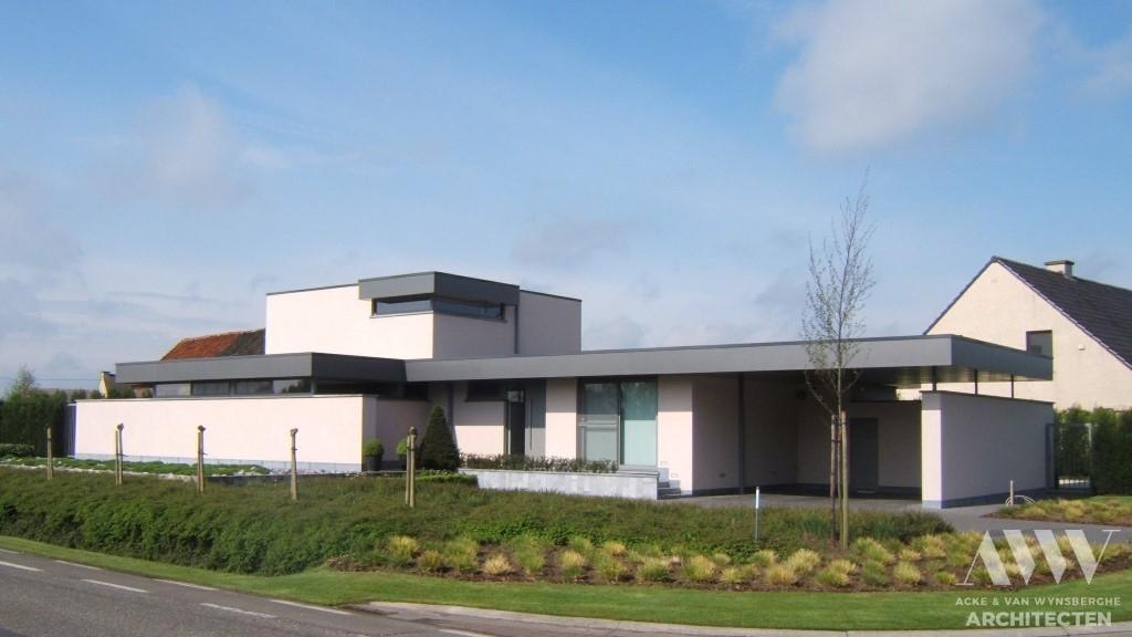 A modern house moderne woning M-H Ertvelde (1)