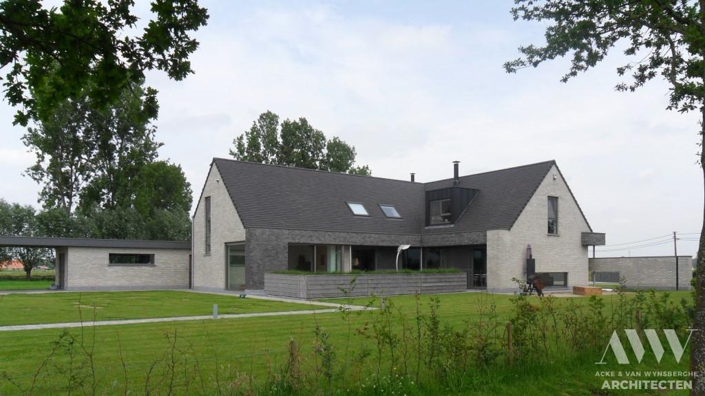 A modern house moderne woning D-A Kaprijke (4)