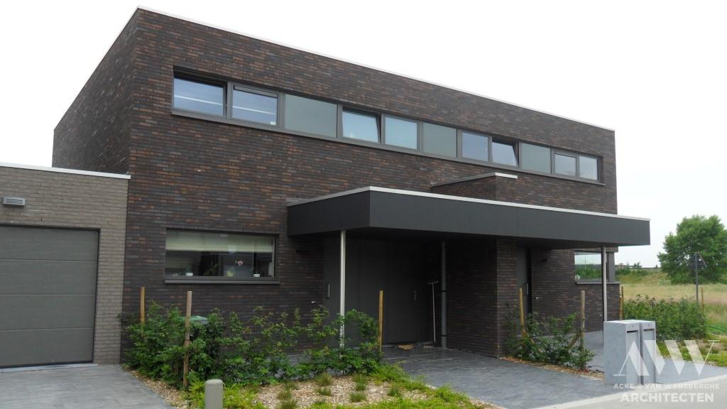 A modern houses moderne woningen R-M Wondelgem (1)