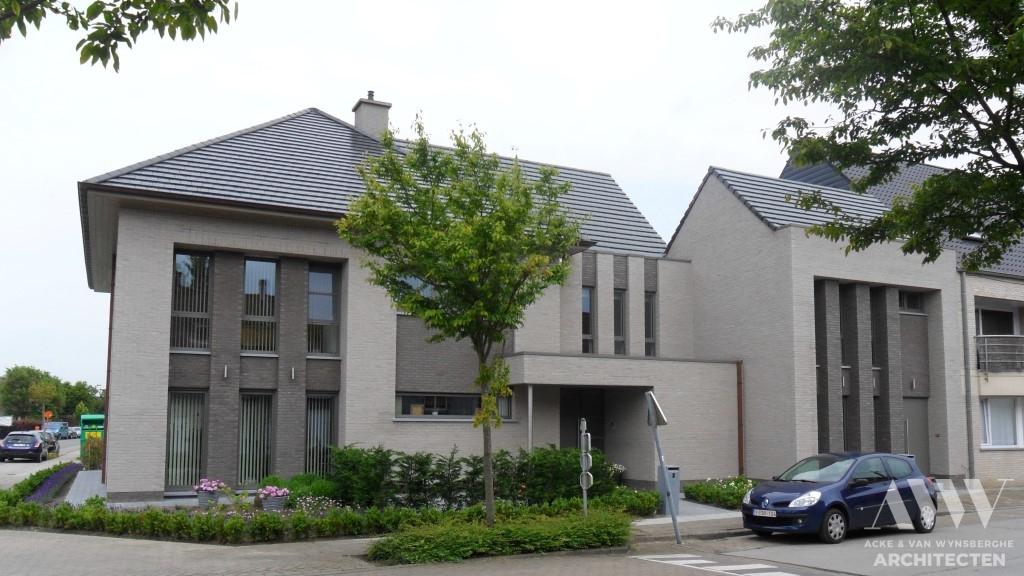 A modern house moderne woning A-L Sleidinge (1)