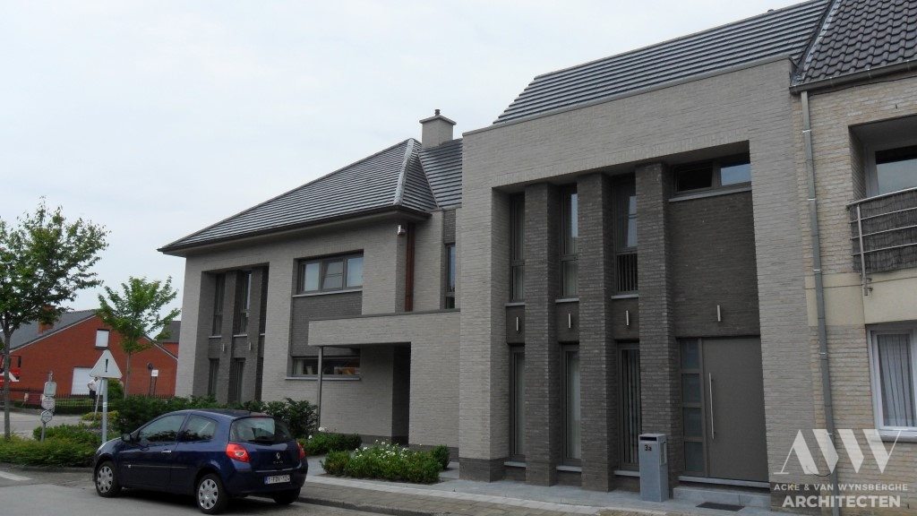 A modern house moderne woning A-L Sleidinge (4)