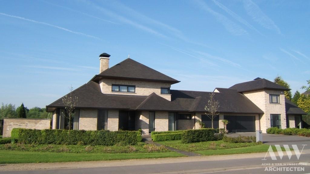 A modern house moderne woning A-B Evergem (1)