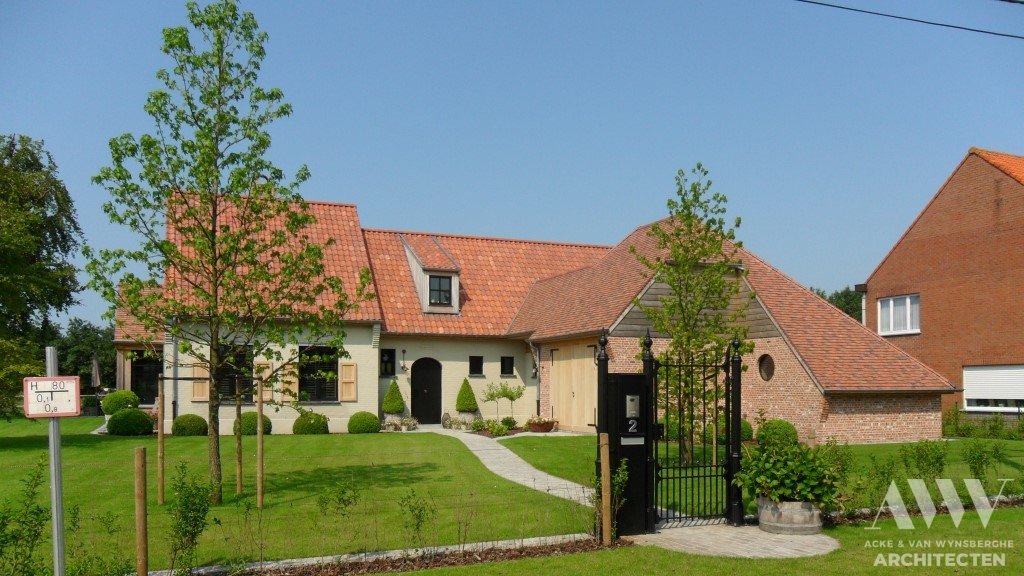 A rural house landelijke woning E-A Sint-Laureins (1)