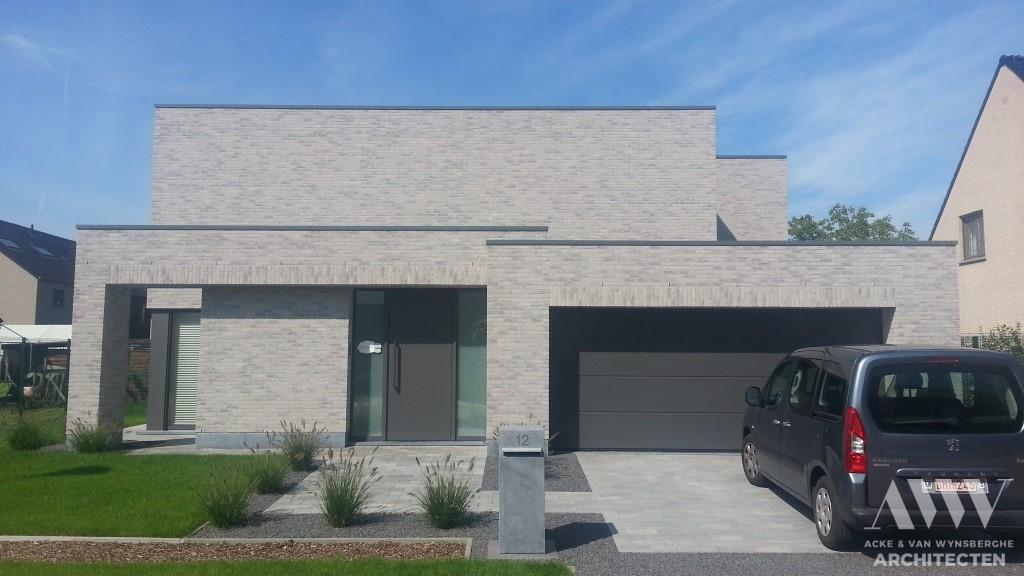 A modern house moderne woning J-I Sleidinge (1)