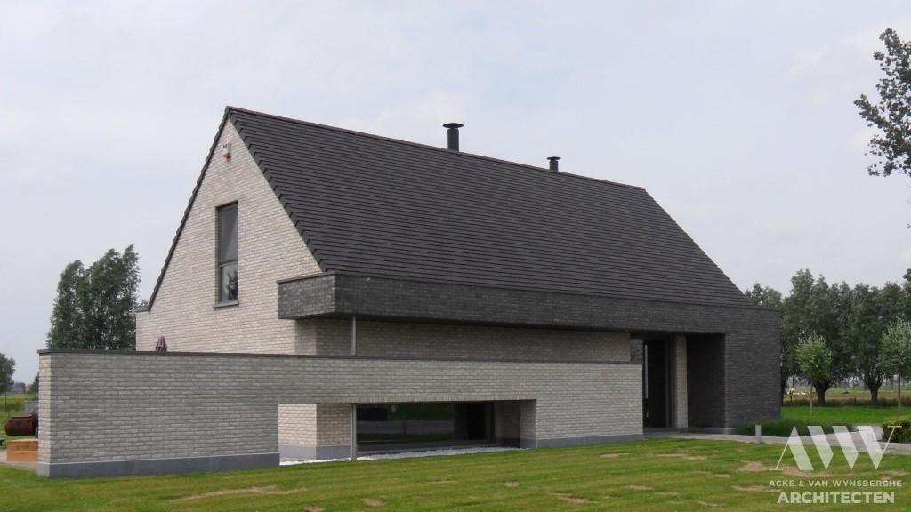 A modern house moderne woning D-A Kaprijke (1)