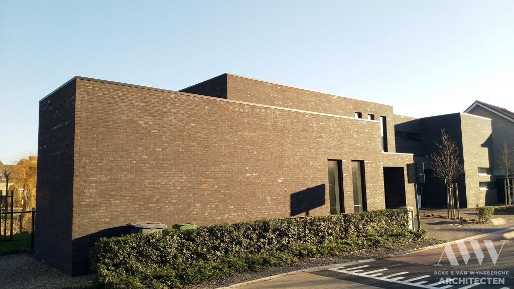 A modern houses moderne woningen A-L Wachtebeke (3)