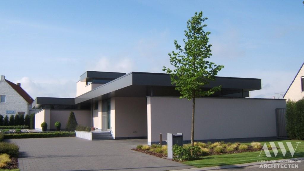 A modern house moderne woning M-H Ertvelde (2)