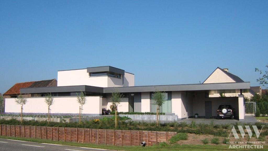 A modern house moderne woning M-H Ertvelde (3)
