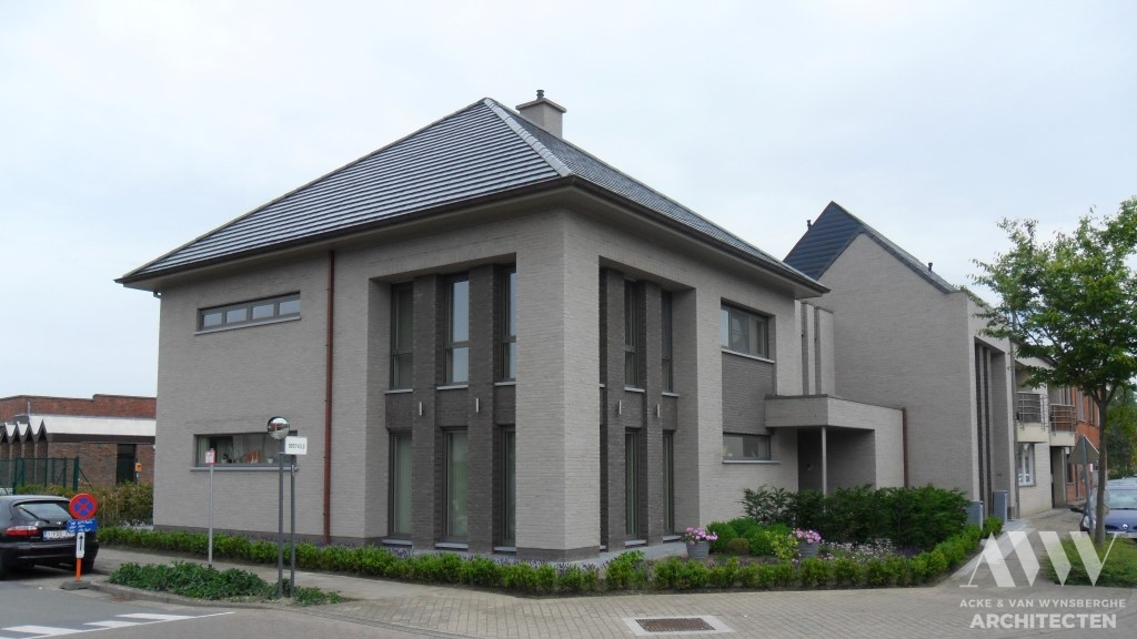 A modern house moderne woning A-L Sleidinge (3)