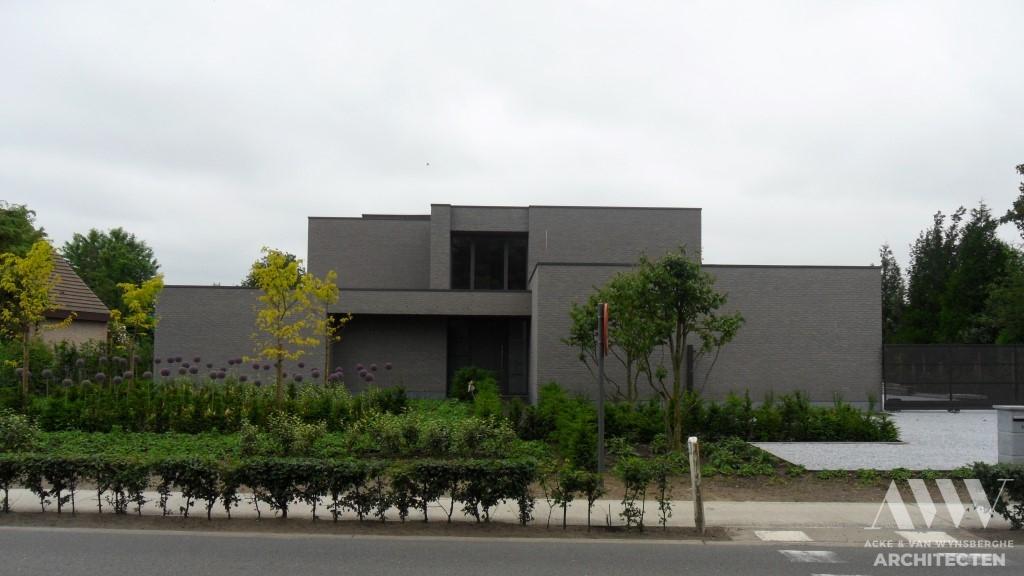 A modern house moderene woning H-A Zomergem (4)