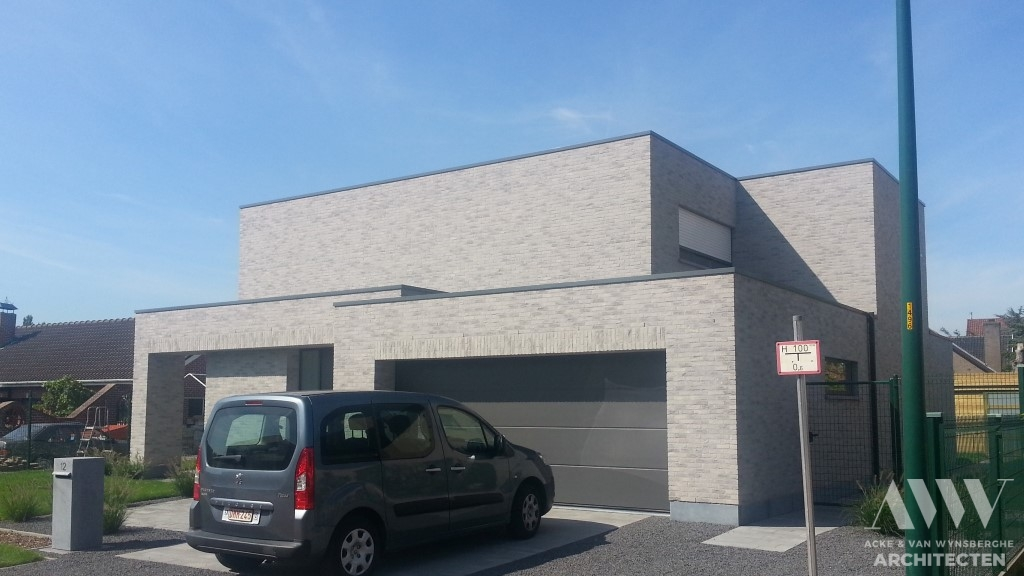 A modern house moderne woning J-I Sleidinge (3)