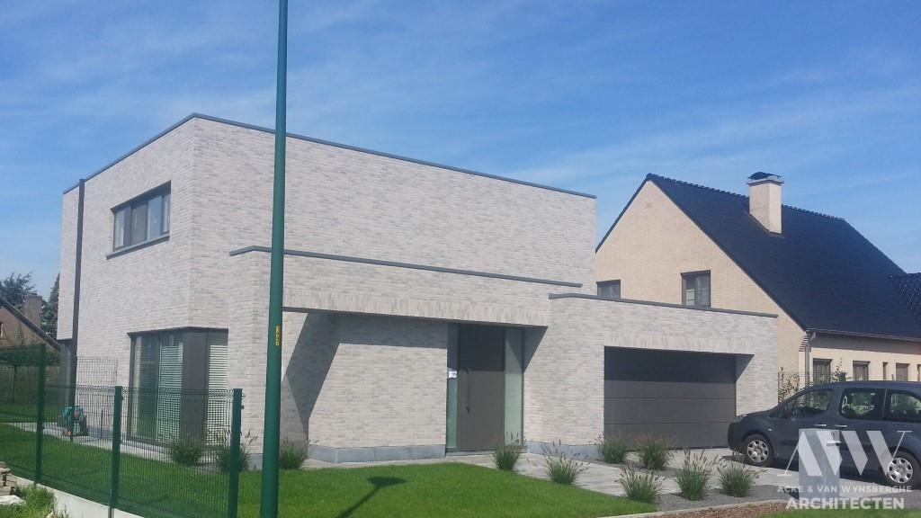 A modern house moderne woning J-I Sleidinge (2)
