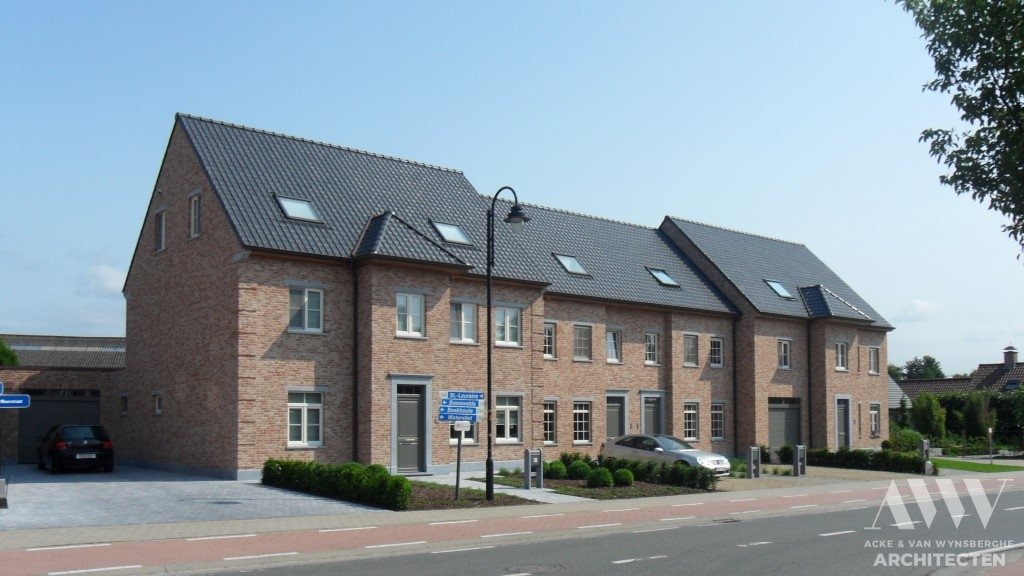 A rural houses landelijke woningen B-F Bentille (3)