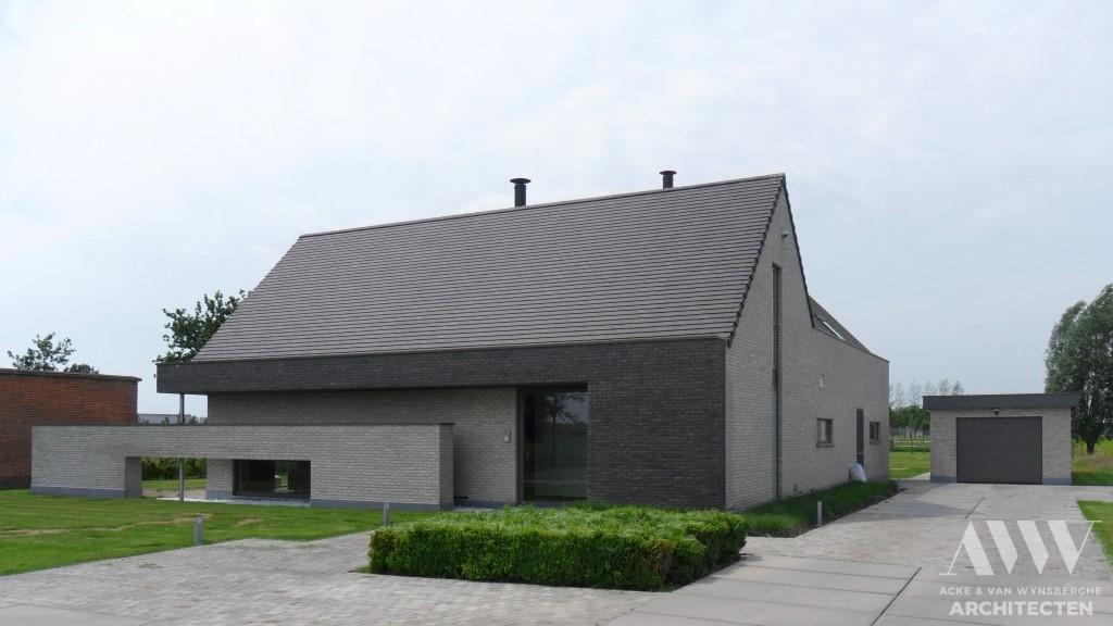 A modern house moderne woning D-A Kaprijke (3)