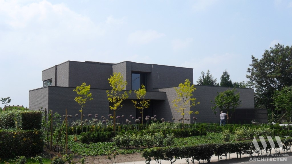 A modern house moderene woning H-A Zomergem (1)