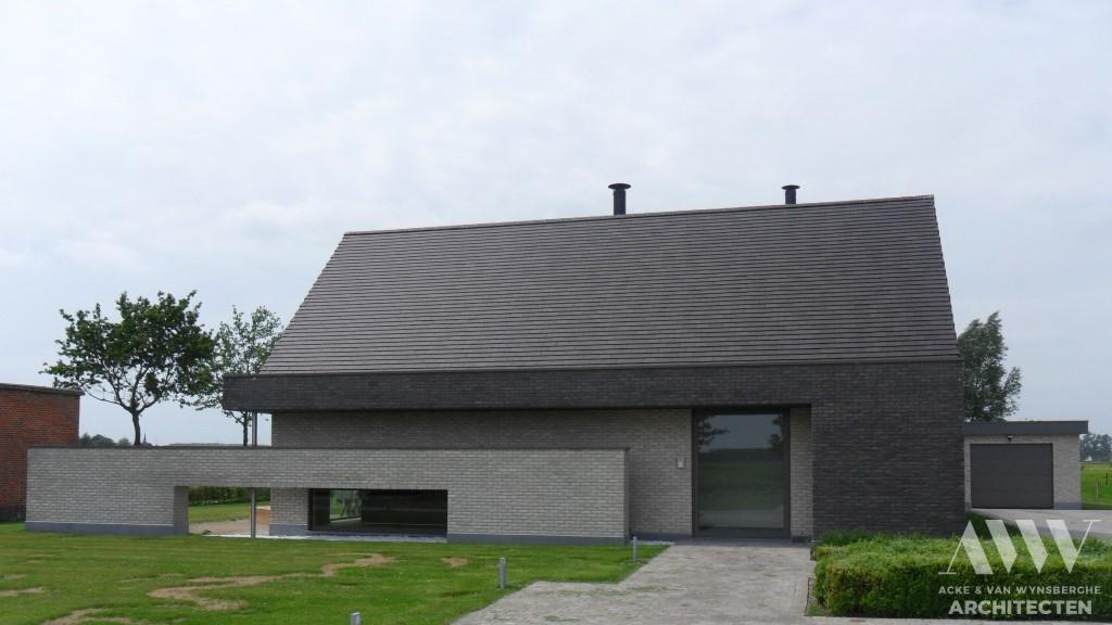 A modern house moderne woning D-A Kaprijke (2)