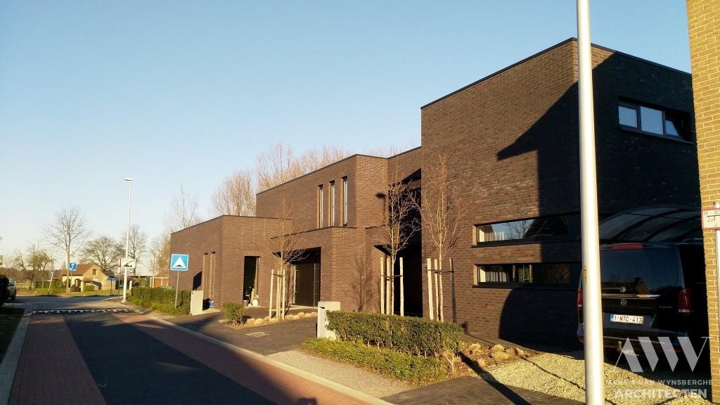 A modern houses moderne woningen A-L Wachtebeke (2)