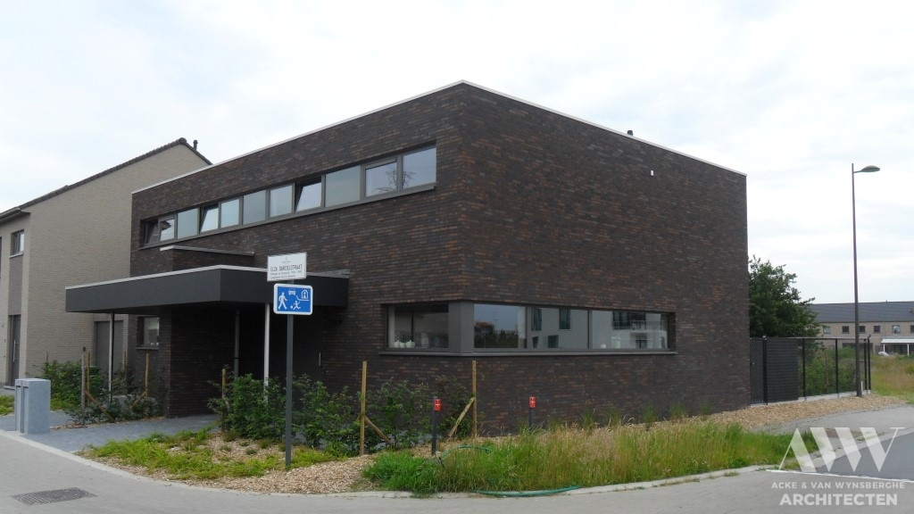 A modern houses moderne woningen R-M Wondelgem (2)