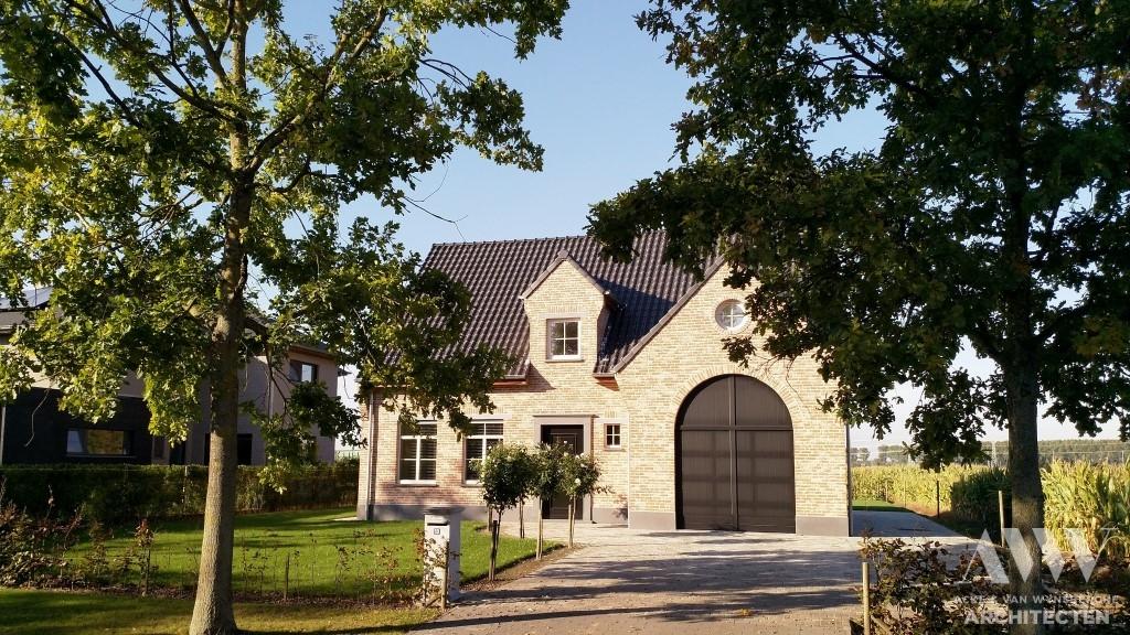 A rural house landelijke woning N-K Adegem (1)